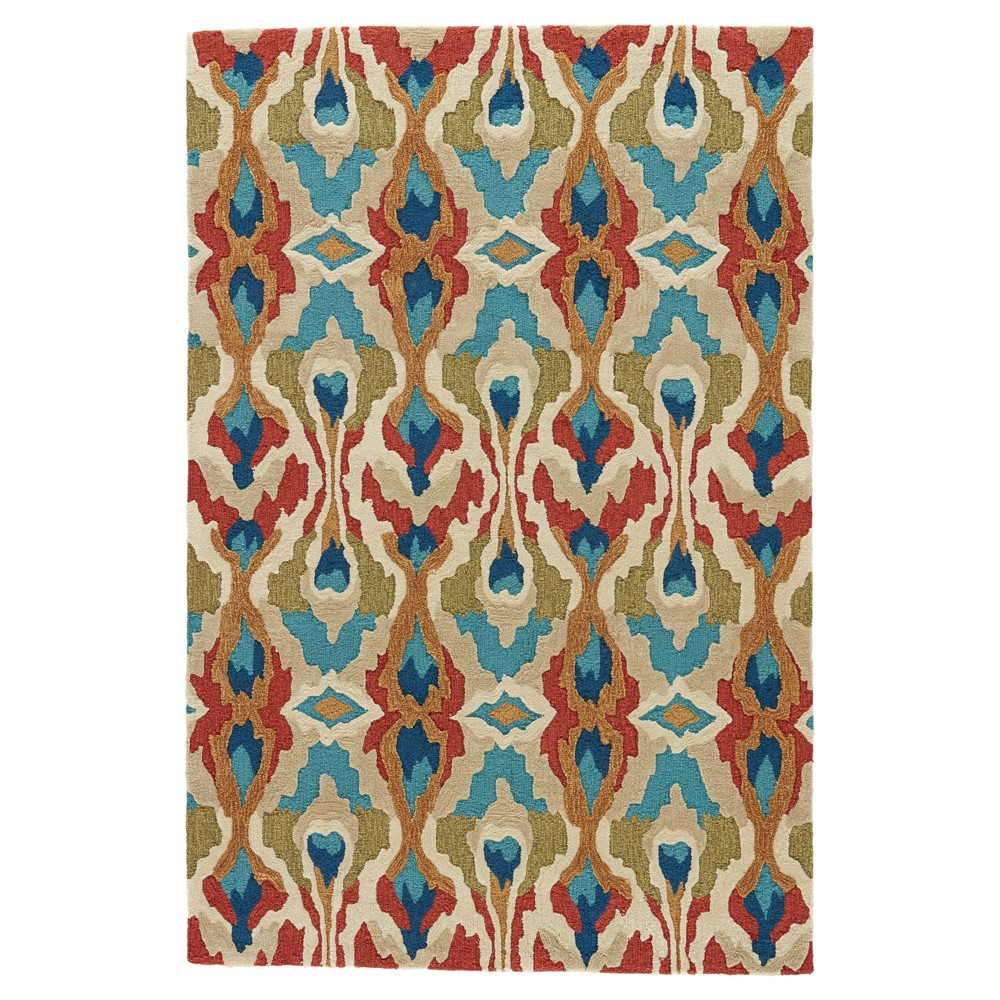 Image of Cactus Abstract Tufted Area rug - (9'X12') - Jaipur