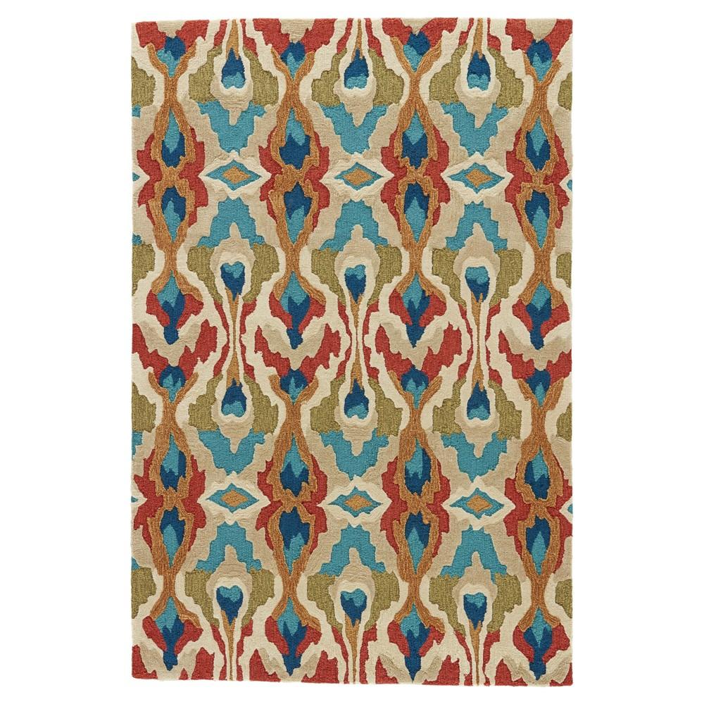 Cactus Abstract Tufted Area rug - (9'X12') - Jaipur