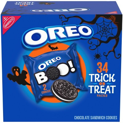 Oreo Halloween Sandwich Cookies - 26.52oz/34ct