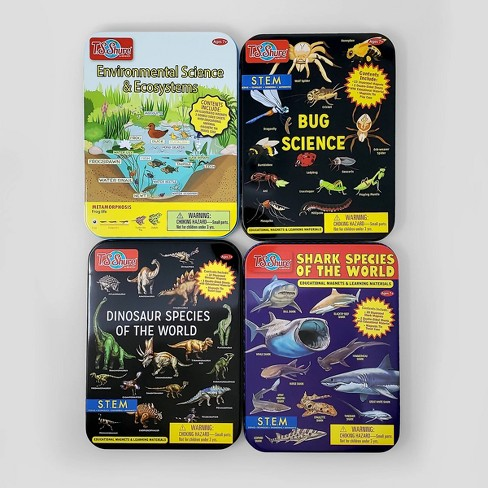 Bendon 4ct Science Learning Tins - image 1 of 4