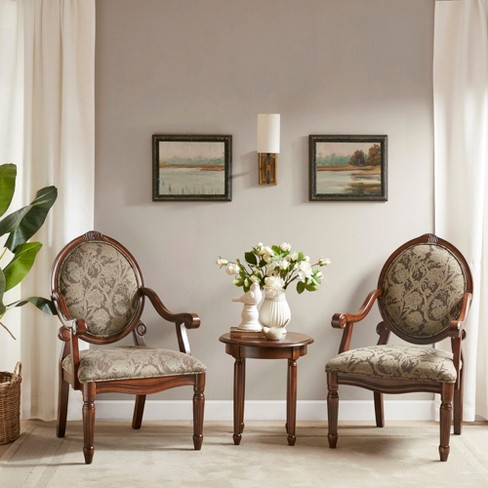 Set Of 2 Living Room Accent Chairs.Set Of 2 Accent Chairs