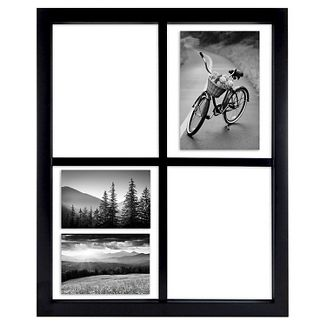 "Windowpane Collage Black Frame, Holds 5""x7""& Smaller - Room Essentials™"