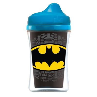 NUK Justice League 2pk Insulated Hard Spout Sippy Cup 9oz - Blue