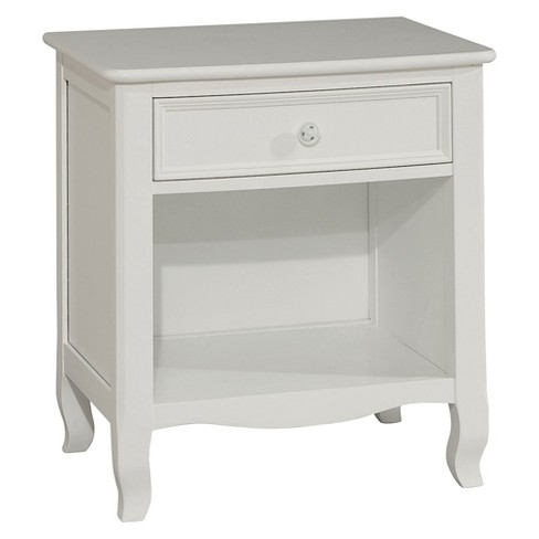 Kids Nightstand White - Bolton Furniture - image 1 of 1