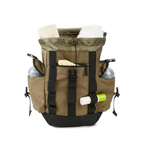 9b6a1c5333f20 Eddie Bauer Diaper Bag - Solid Green   Target