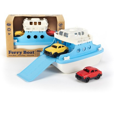 Green Toys Ferry Boat with Mini Cars - Blue