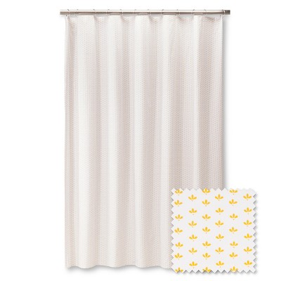 Brooklyn & Bond™ Little Petal Shower Curtain - Yellow