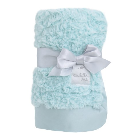 NoJo Cuddle Me Luxury Plush Blanket - Aqua - image 1 of 3
