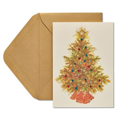 Embellished Tree Card - PAPYRUS - image 1 of 4
