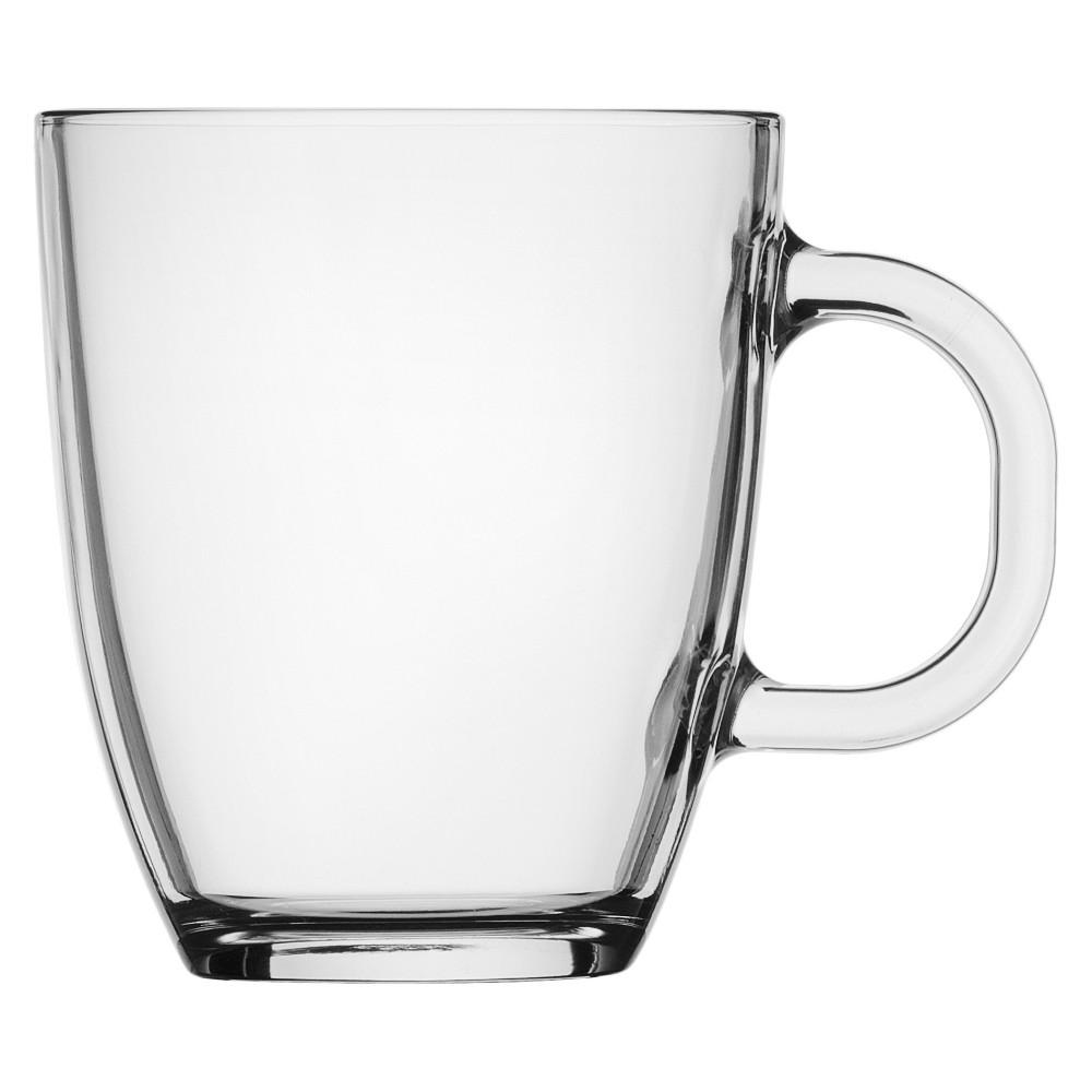 Image of Bodum 12oz 2pk Single Wall Bistro Mug, Clear