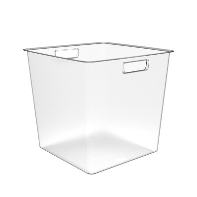 Short Plastic Bin Clear   Made By Design™ by Made By Design™