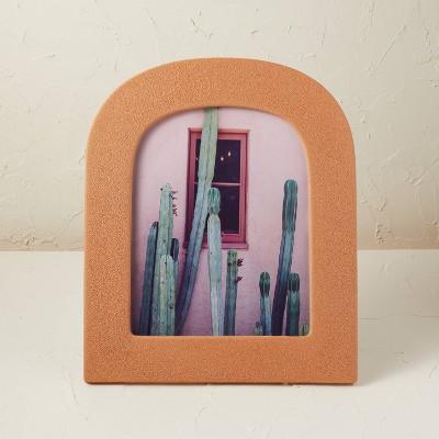 "8""x10"" Ceramic/Glass Photo Frame with Bubble Glaze Finish - Opalhouse™ designed with Jungalow™"