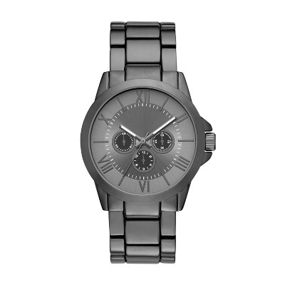 Men's Roman Braclet Watch - Goodfellow & Co™ Gunmetal