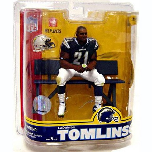 McFarlane Toys NFL San Diego Chargers Sports Picks Series 16 LaDainian Tomlinson Action Figure [Blue Jersey] - image 1 of 1