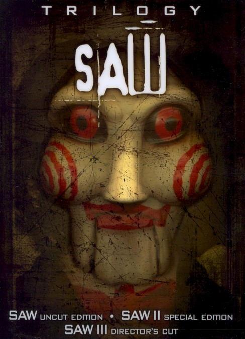 Saw Trilogy [6 Discs] [Special Limited Edition 3-D Puppet Head Box] - image 1 of 1