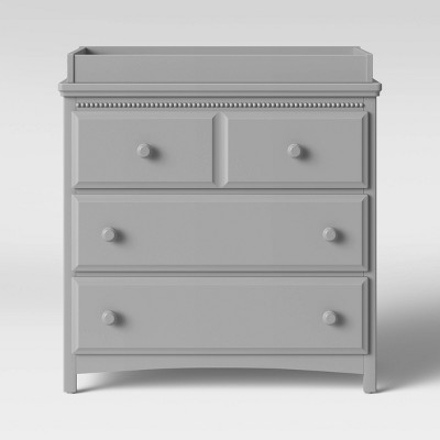 Delta Children Emerson 3 Drawer Dresser/Changer Combo - Gray