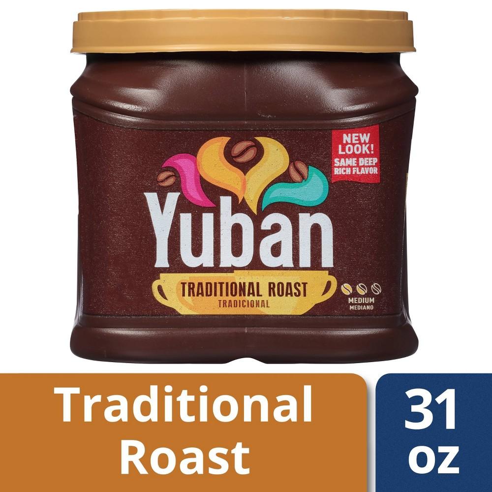 Yuban Traditional Medium Roast Premium Ground Coffee 31oz