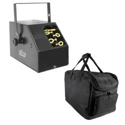Chauvet DJ B-250 Portable Pro Effect Party Bubble Machine + Equipment Carry Bag