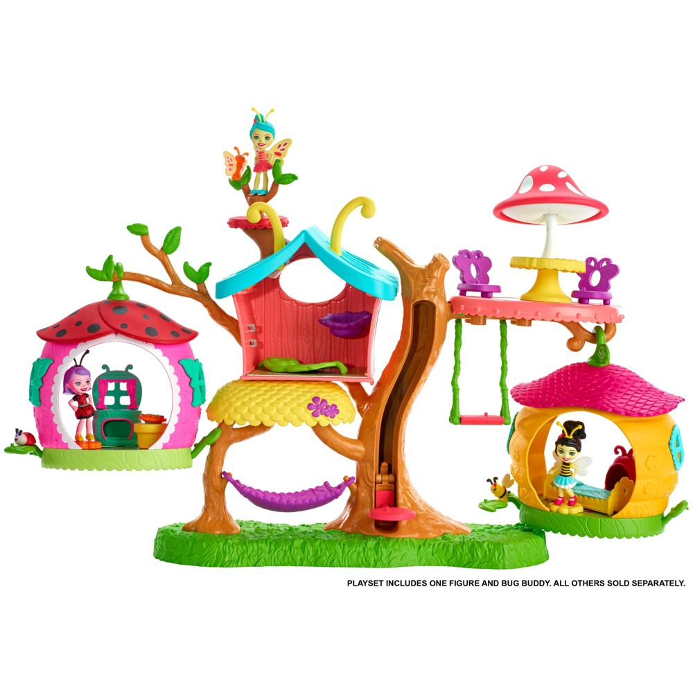 Enchantimals Butterfly Clubhouse Playset with Baxi Butterfly Doll