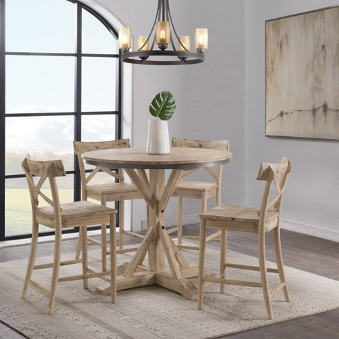 Magnificent Keaton Round Counter Height Dining Table Beach Picket House Furnishings Gmtry Best Dining Table And Chair Ideas Images Gmtryco