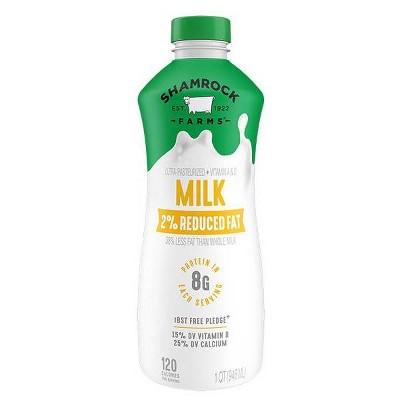 Shamrock Farms 2% Milk - 1qt