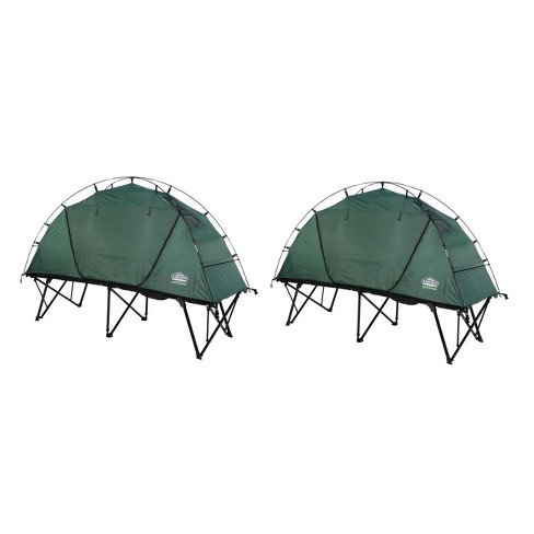Kamp Rite Ctc Compact Light Collapsible Backpacking Camping Tent Cot (2 Pack) - image 1 of 6