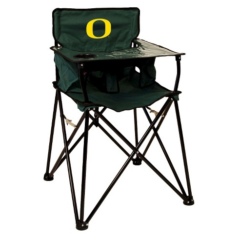 Remarkable Ciao Baby University Of Oregon Ducks Portable High Chair In Green Gmtry Best Dining Table And Chair Ideas Images Gmtryco