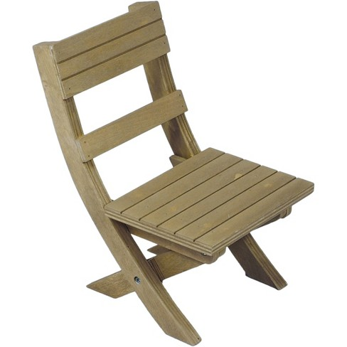The Queen S Treasures 18 Inch Doll Furniture Wooden Folding Camping Chair