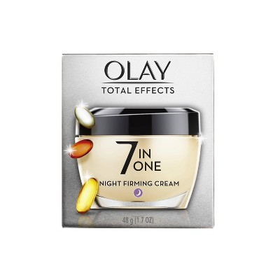 Facial Moisturizer: Olay Total Effects 7-in-One Night Firming Cream