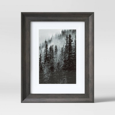 """5"""" x 7"""" Double Matted Table Frame Dark Brown/White - Threshold™"""