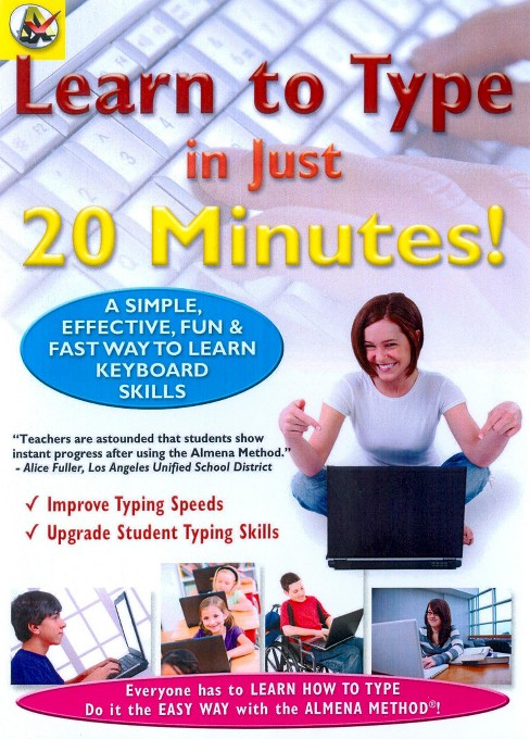 Learn how to type in just 20 minutes (DVD) - image 1 of 1