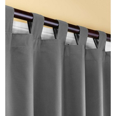 "63"" L Thermalogic Energy Efficient Insulated Tab-Top Curtains"
