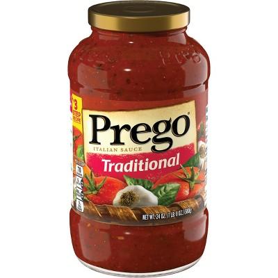 Prego Traditional Italian Sauce 24oz