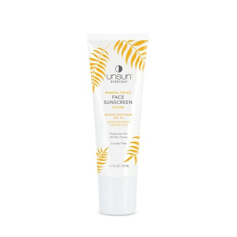 Unsun Cosmetics Mineral Tinted Face Sunscreen Lotion - SPF 30 - 1.7 fl oz - image 1 of 2