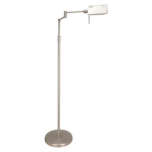 Lite Source Pharma 1-LT Floor Lamp - Satin Steel - image 1 of 1