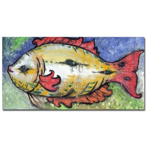 """Trademark Fine Art 47"""" x 24"""" Yonel 'Sea View' Canvas Art - image 1 of 2"""