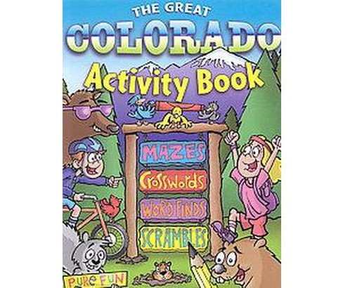 Great Colorado Activity Book (Paperback) - image 1 of 1