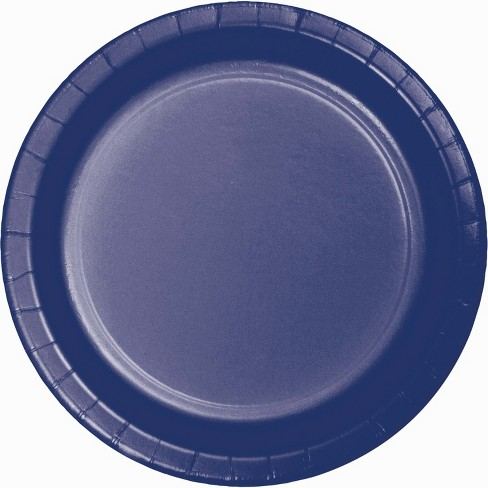 60ct Blue Paper Plates - image 1 of 1