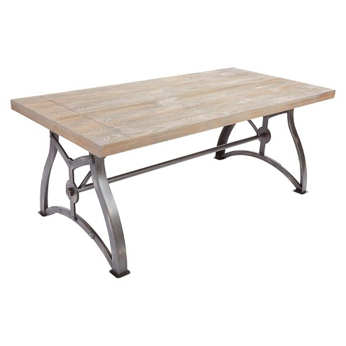 Beckett Coffee Table Brown Silverwood