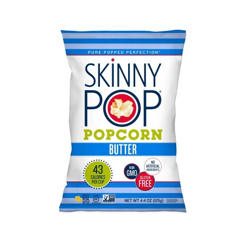 SkinnyPop Real Butter Popcorn - 4.4oz - image 1 of 3