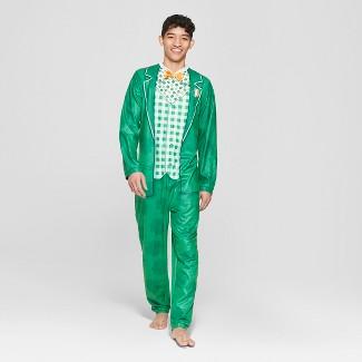 Men's Leprechaun Union Suit - Green XL