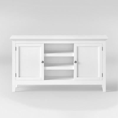 Carson Large Storage Credenza - White - Threshold™