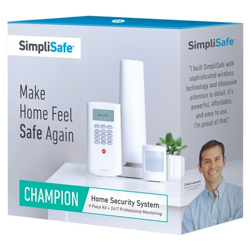 SimpliSafe Champion Home Security System - White (TGT-1) - image 1 of 7
