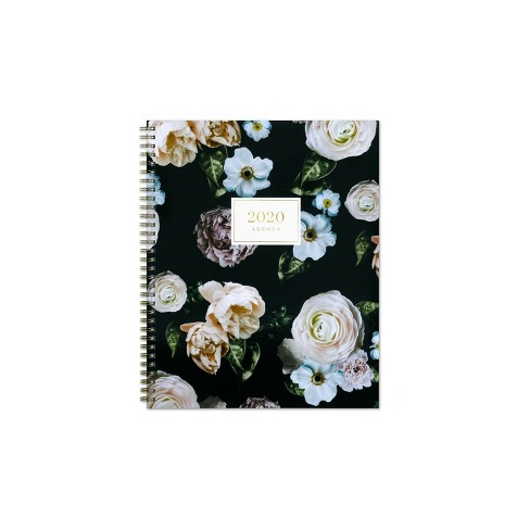 """2020 Planner 8.5""""x 11"""" Midnight Musk Black - cupcakes and cashmere for Blue Sky - image 1 of 4"""