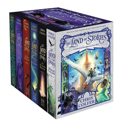 The Land of Stories Set - by Chris Colfer (Paperback)
