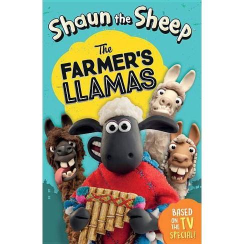 Shaun the Sheep: The Farmer's Llamas - (Tales from Mossy Bottom Farm) by  Martin Howard (Paperback) - image 1 of 1