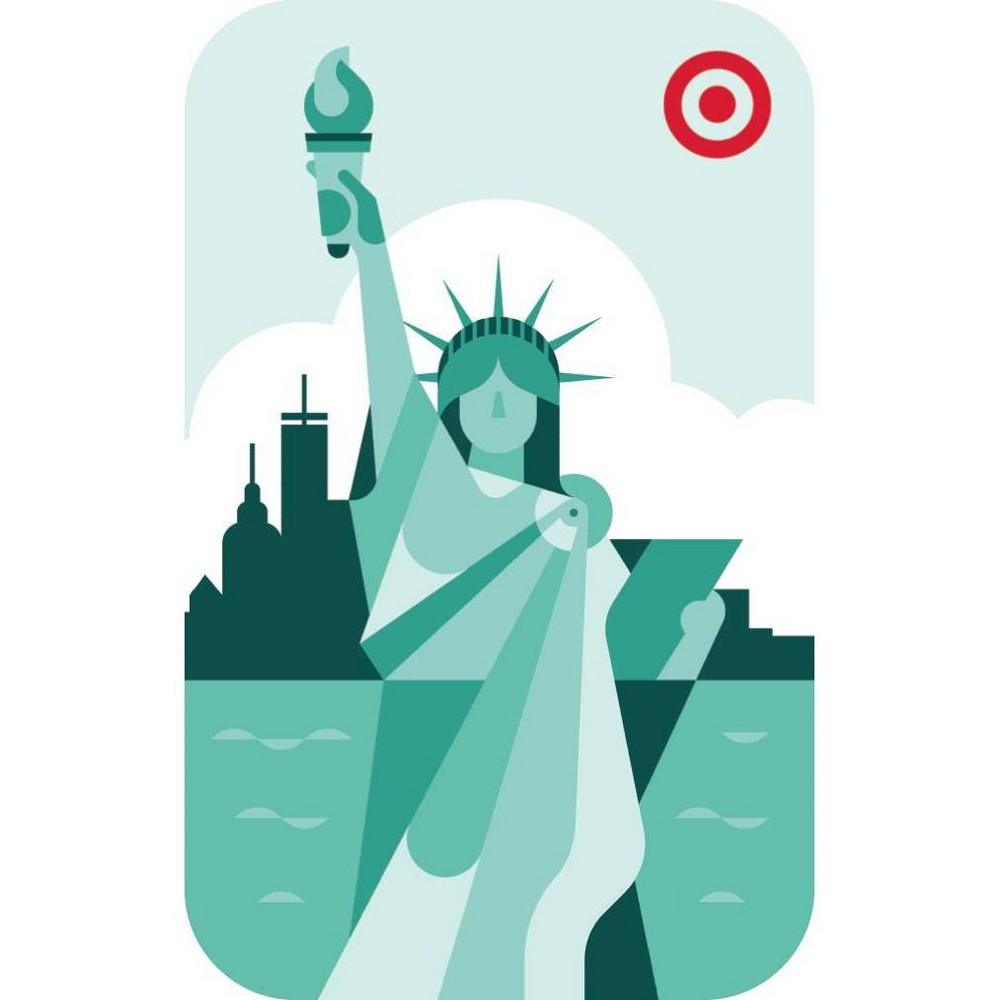 Nyc Statue $300 GiftCard, Target Giftcards