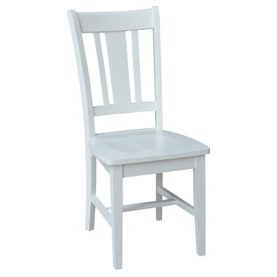 San Remo Splatback Chair Off-White - International Concepts