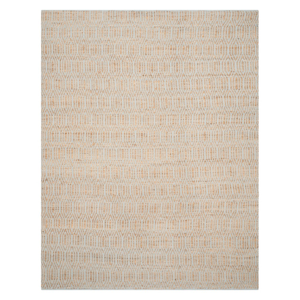 11'X15' Geometric Area Rug Silver/Natural - Safavieh