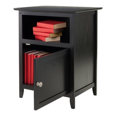 End Table - Black - Winsome